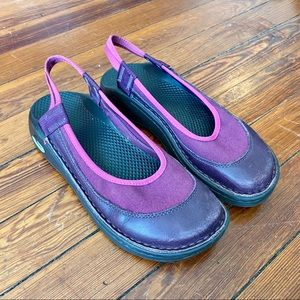 Chaco Mary Jane Pink & Purple Vintage Shoes 7.5